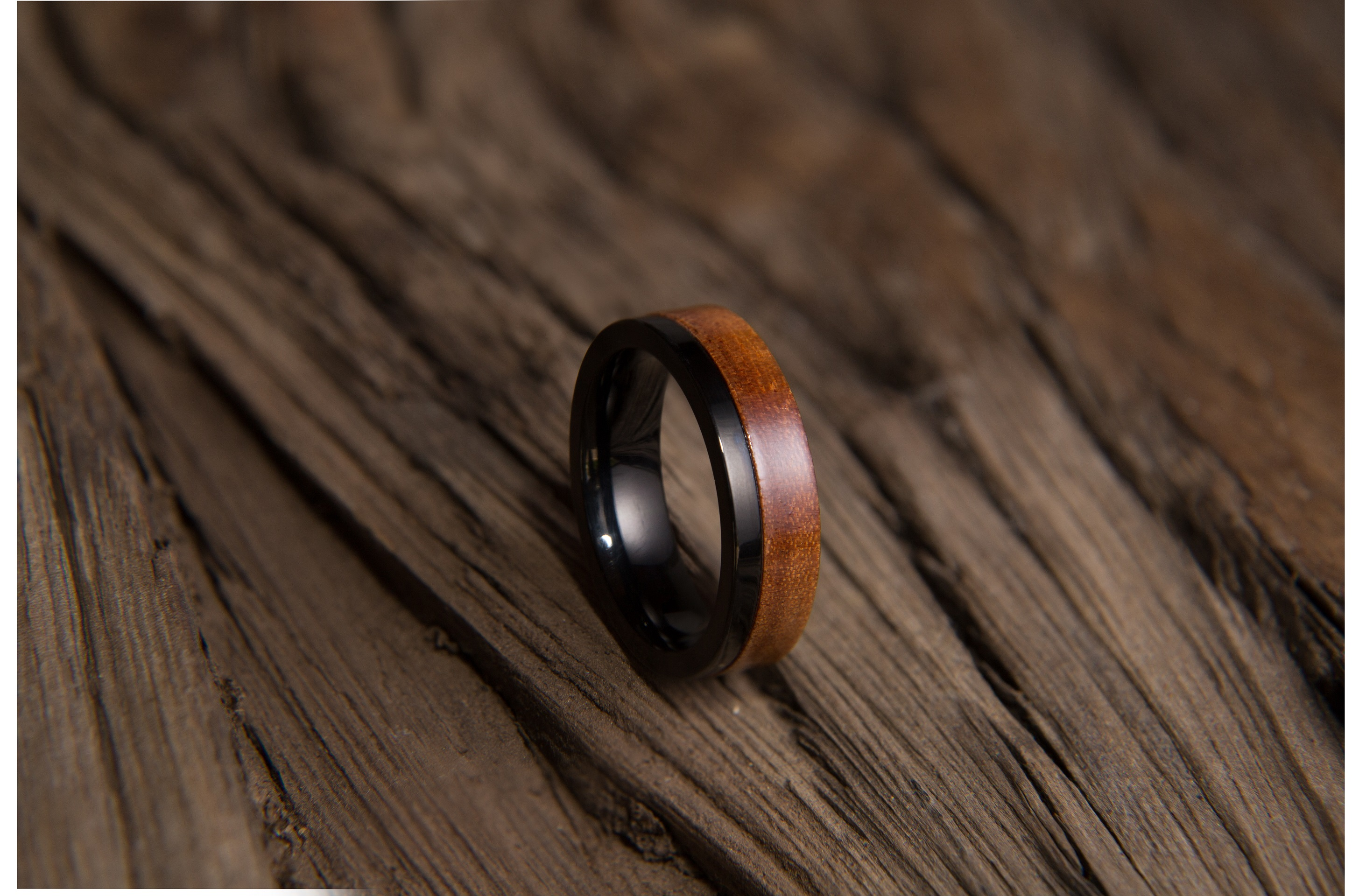 purple ring fit comfort and pin maple titanium inlay rings with opal wood jewelry